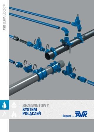 Brochure about the AVK Supa Lock