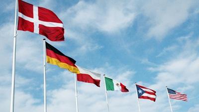 Flags at AVK
